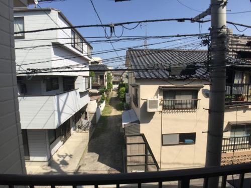 東雲本町1丁目の中古住宅からの眺めです