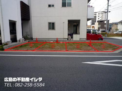 段原 駐車場