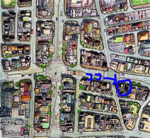 広島の不動産イシダのmap