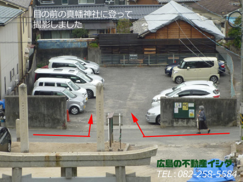 駐車場 広島 南区 北大河
