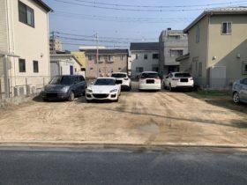 段原の月極駐車場です