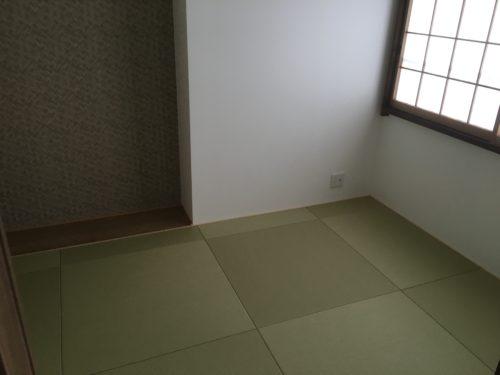 チサンマンション広島のリフォーム工事後の和紙の写真です