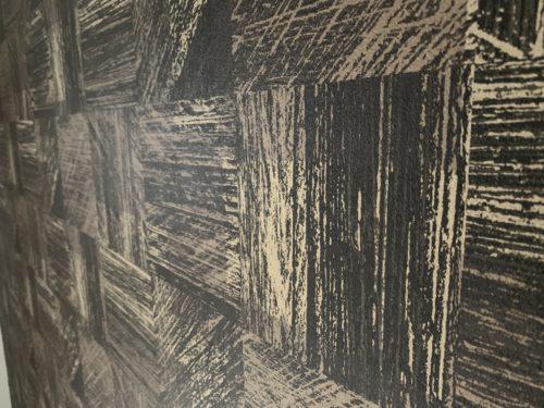 ライオンズマンション西霞町第2のリフォーム工事後の壁クロスの接写写真です