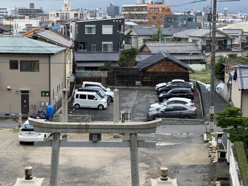 北大河町の月極駐車場の写真です