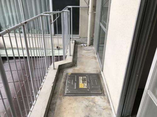 井ノ口ハイツ バルコニー