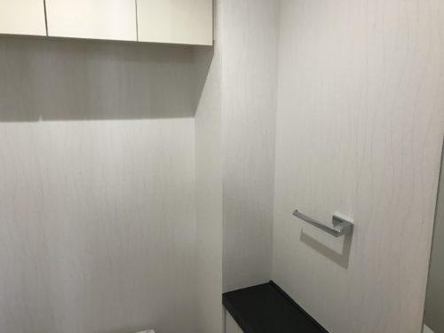 アーバンビュー宇品フェアコーストのリフォーム工事のトイレの写真です