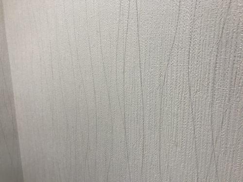 アーバンビュー宇品フェアコーストのリフォーム工事のトイレの壁クロスの写真です