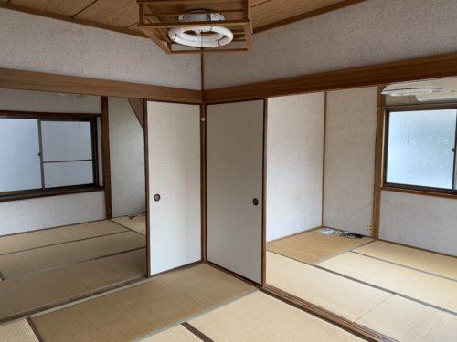 広島市南区翠5丁目の戸建賃貸の2階和室の写真