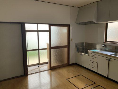 広島市南区翠5丁目の戸建賃貸のキッチンの写真