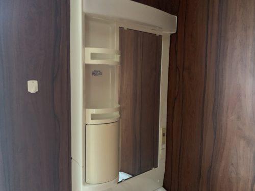 広島市南区翠5丁目の戸建賃貸の洗面化粧台の写真