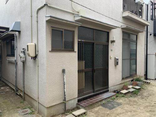 広島市南区翠5丁目の戸建賃貸の外観写真