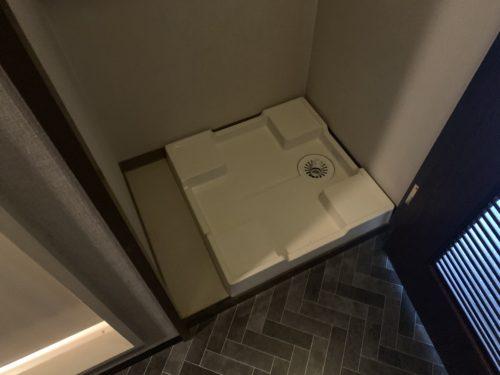 ライオンズマンション西霞町第2の洗濯パンの写真です