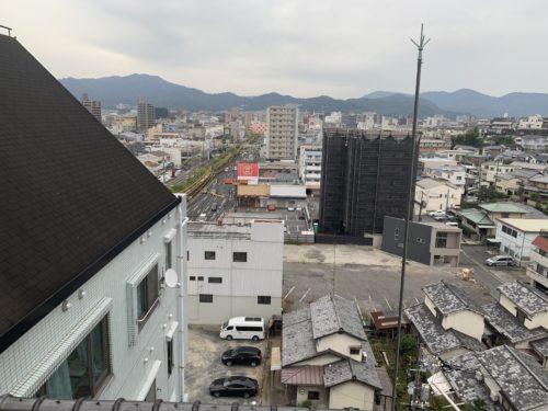 ライオンズマンション西霞町第2の最上階の眺望の写真です