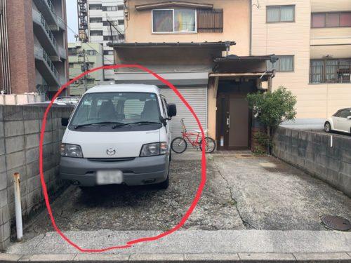 銀山町 月極駐車場の写真です