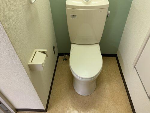霞2丁目の貸事務所のトイレの写真