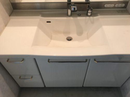 ルミナス三川町の洗面台の写真です
