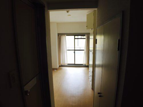 シティコーポ比治山のリフォーム工事前の室内写真です