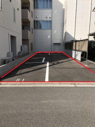 イシダお客様用駐車場