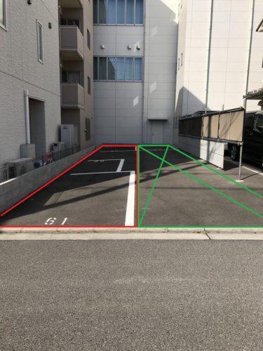 イシダ お客様用駐車場