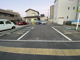 段原の月極駐車場の写真です